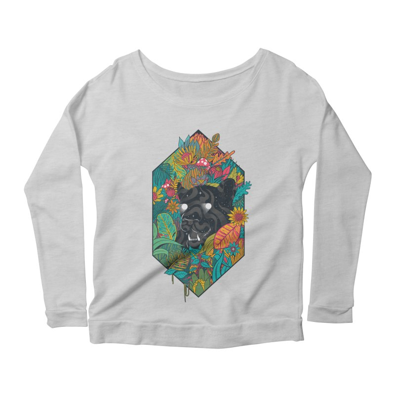 Ethereal Ambiance Women's Scoop Neck Longsleeve T-Shirt by MadKobra