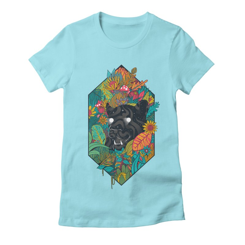 Ethereal Ambiance Women's Fitted T-Shirt by MadKobra