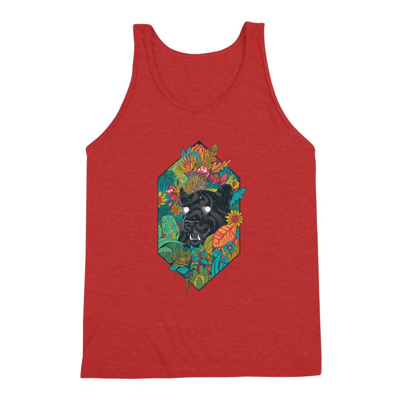 Ethereal Ambiance Men's Triblend Tank by MadKobra