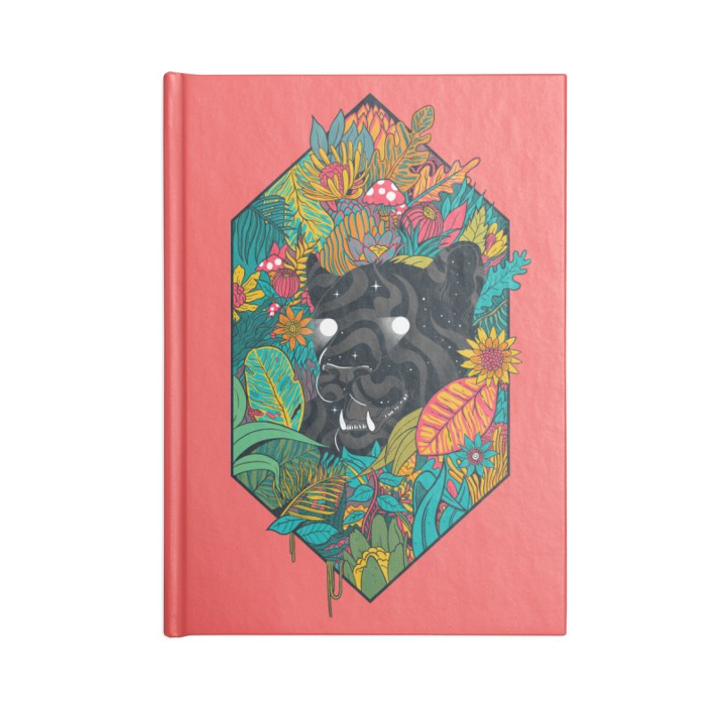 Ethereal Ambiance Accessories Lined Journal Notebook by MadKobra