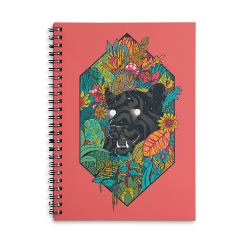 Ethereal Ambiance Accessories Lined Spiral Notebook by MadKobra