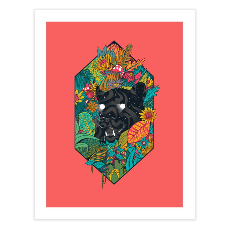 Ethereal Ambiance Home Fine Art Print by MadKobra
