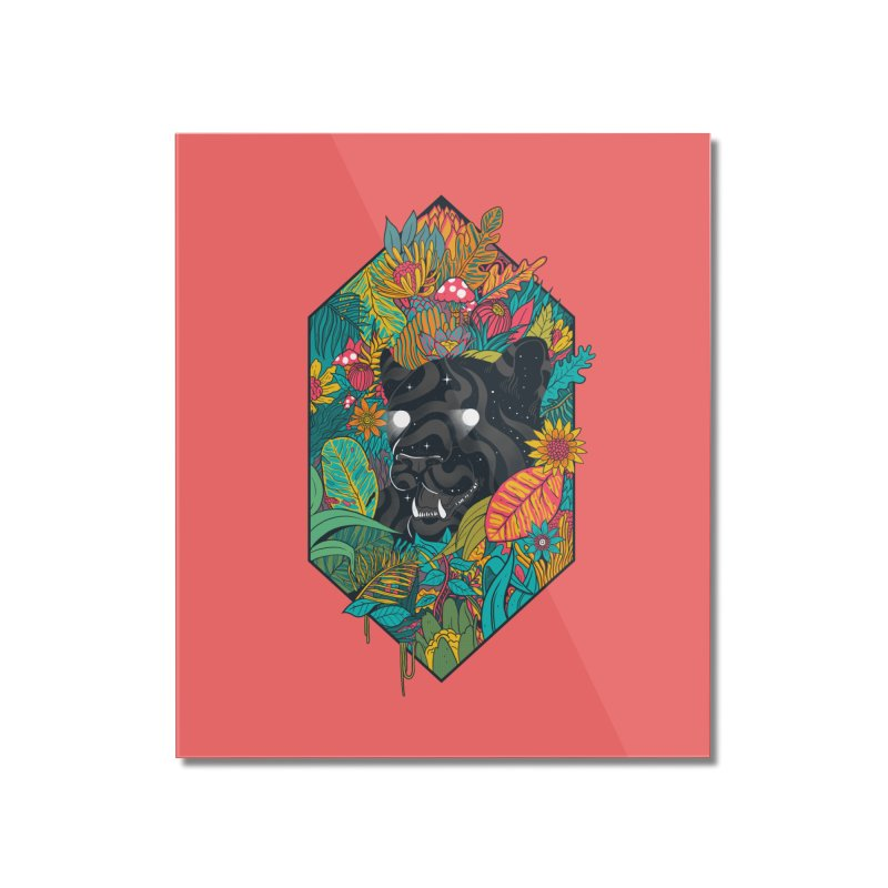 Ethereal Ambiance Home Mounted Acrylic Print by MadKobra