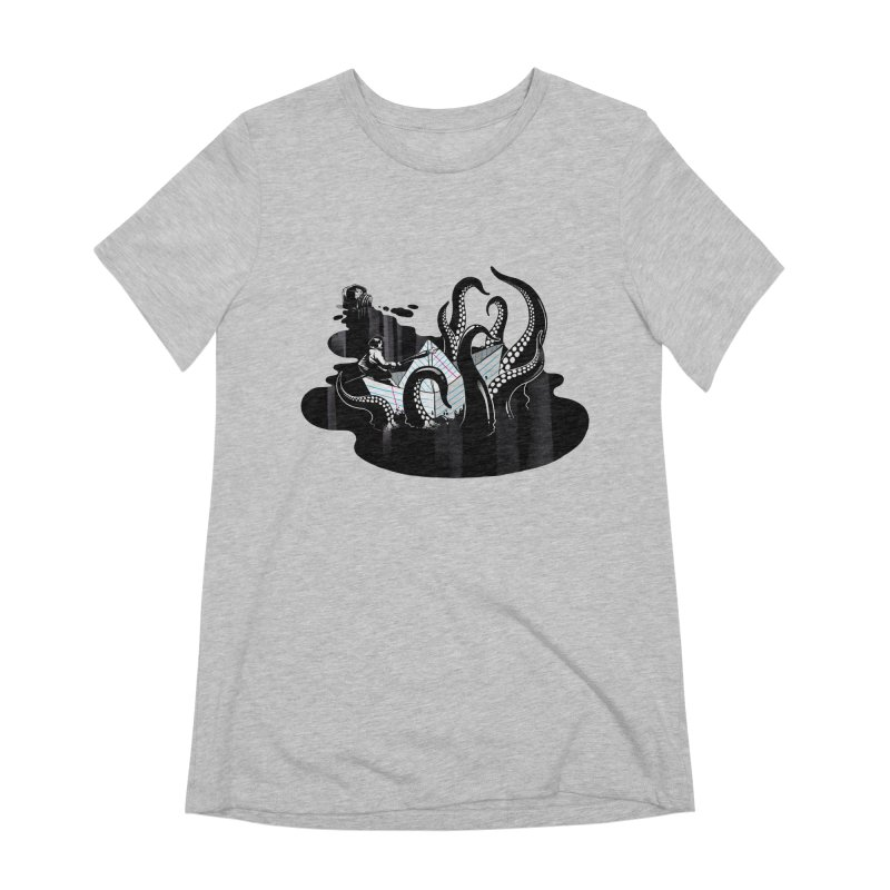A smooth ink never made a skilled artist Women's Extra Soft T-Shirt by MadKobra
