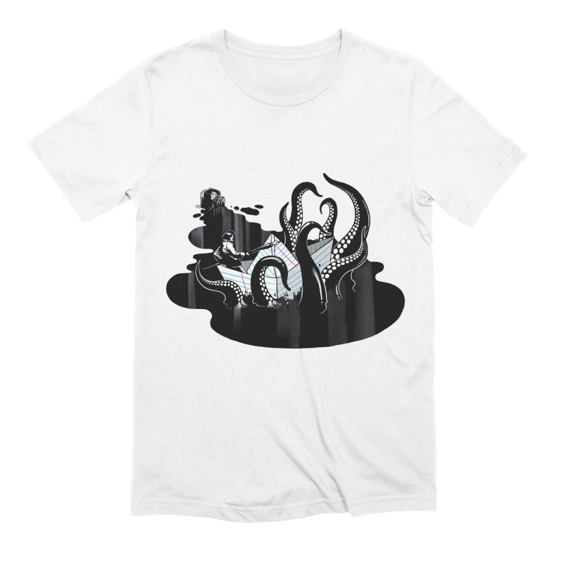 A smooth ink never made a skilled artist Men's Extra Soft T-Shirt by MadKobra