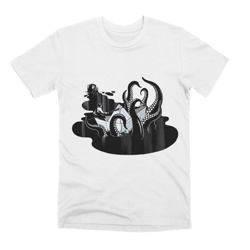 A smooth ink never made a skilled artist Men's Premium T-Shirt by MadKobra