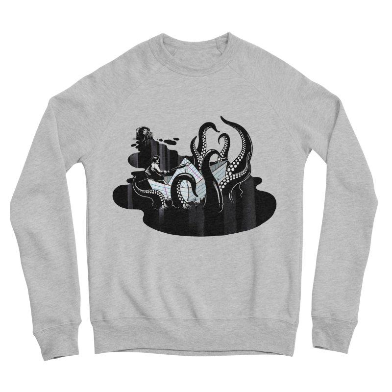 A smooth ink never made a skilled artist Men's Sponge Fleece Sweatshirt by MadKobra