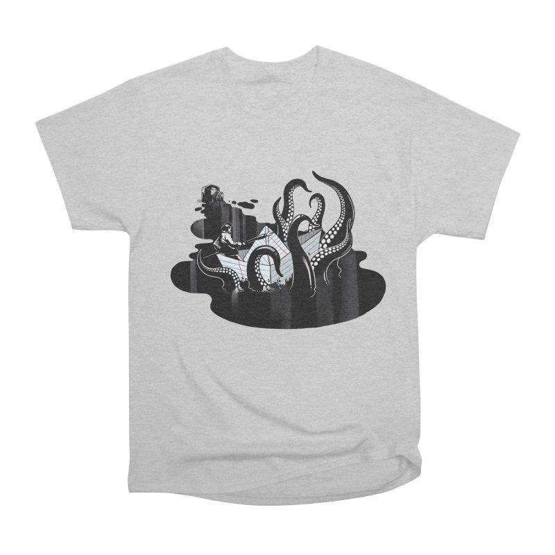 A smooth ink never made a skilled artist Men's Heavyweight T-Shirt by MadKobra