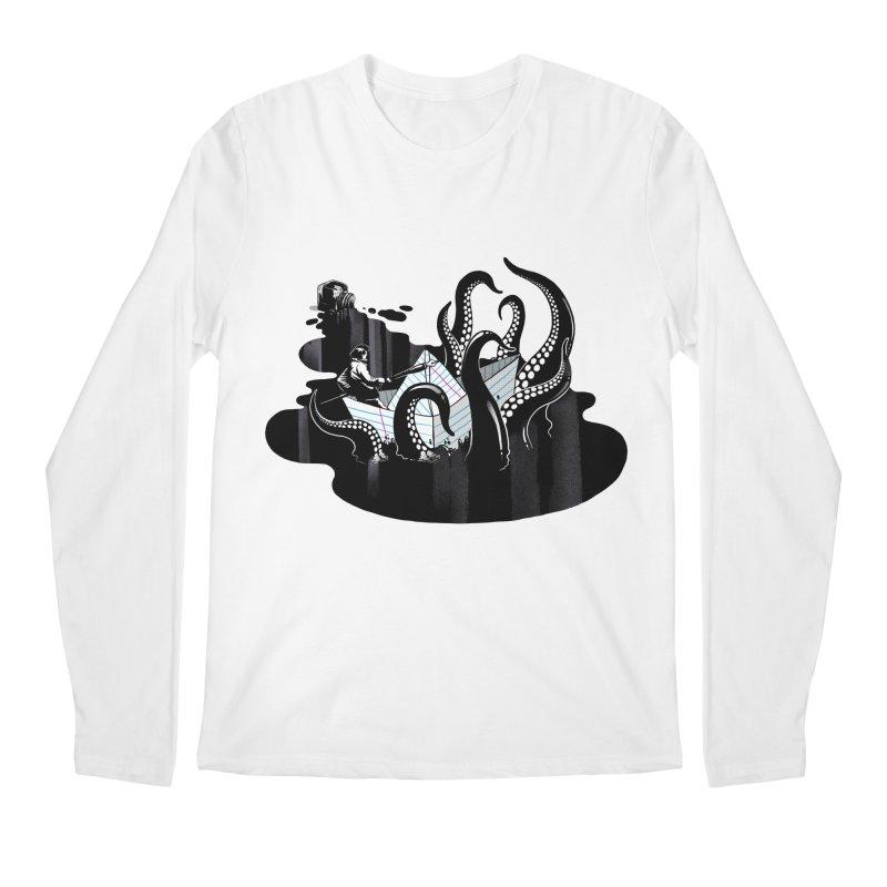 A smooth ink never made a skilled artist Men's Regular Longsleeve T-Shirt by MadKobra