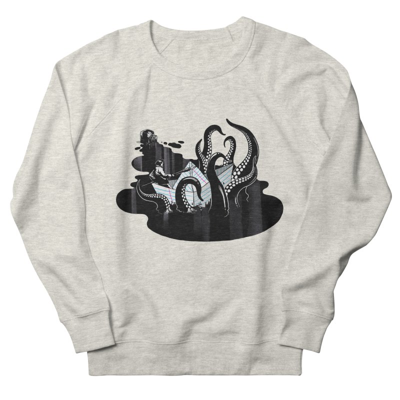 A smooth ink never made a skilled artist Women's French Terry Sweatshirt by MadKobra