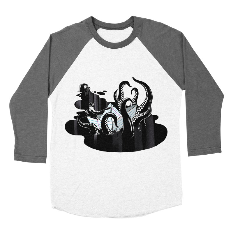 A smooth ink never made a skilled artist Women's Baseball Triblend Longsleeve T-Shirt by MadKobra