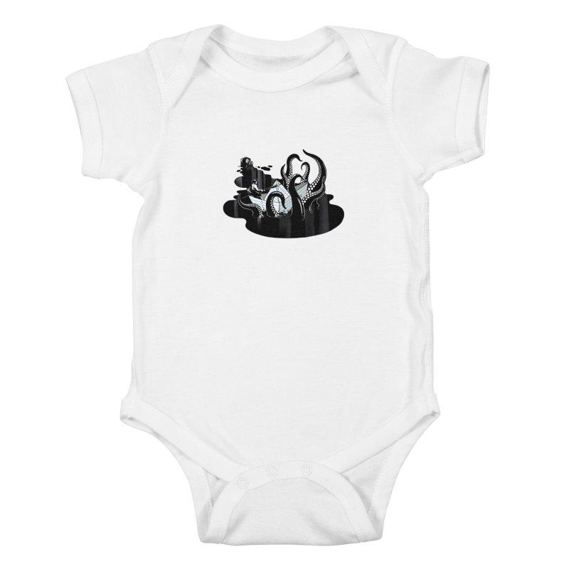 A smooth ink never made a skilled artist Kids Baby Bodysuit by MadKobra