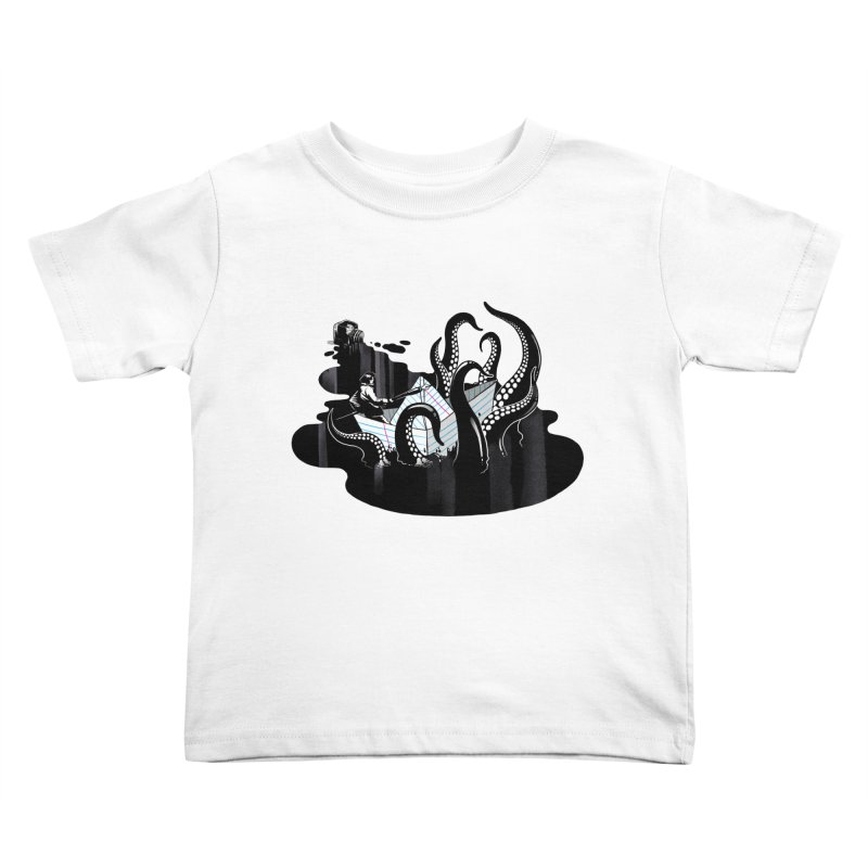 A smooth ink never made a skilled artist Kids Toddler T-Shirt by MadKobra