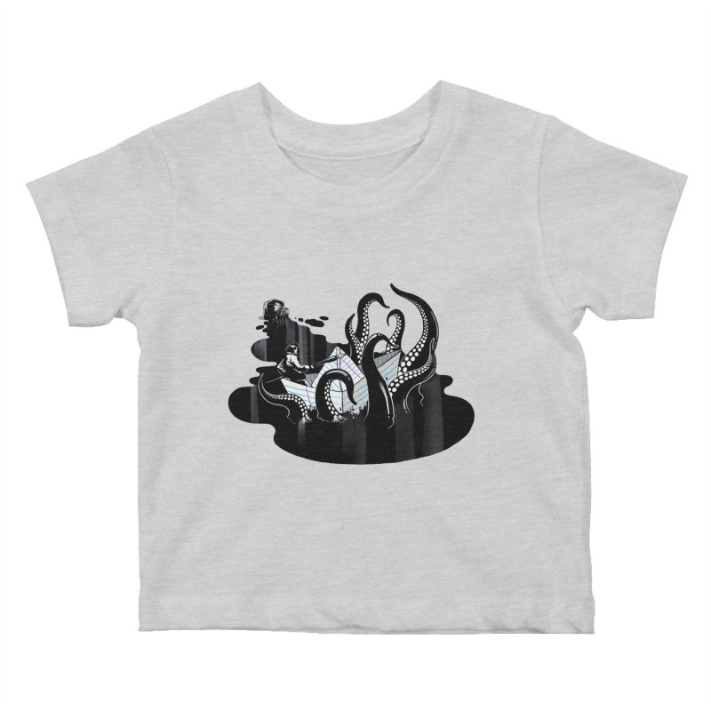 A smooth ink never made a skilled artist Kids Baby T-Shirt by MadKobra