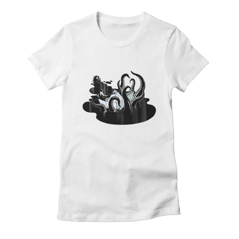 A smooth ink never made a skilled artist Women's T-Shirt by MadKobra