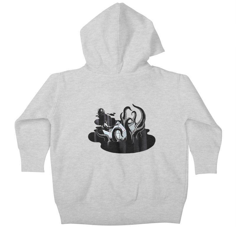 A smooth ink never made a skilled artist Kids Baby Zip-Up Hoody by MadKobra