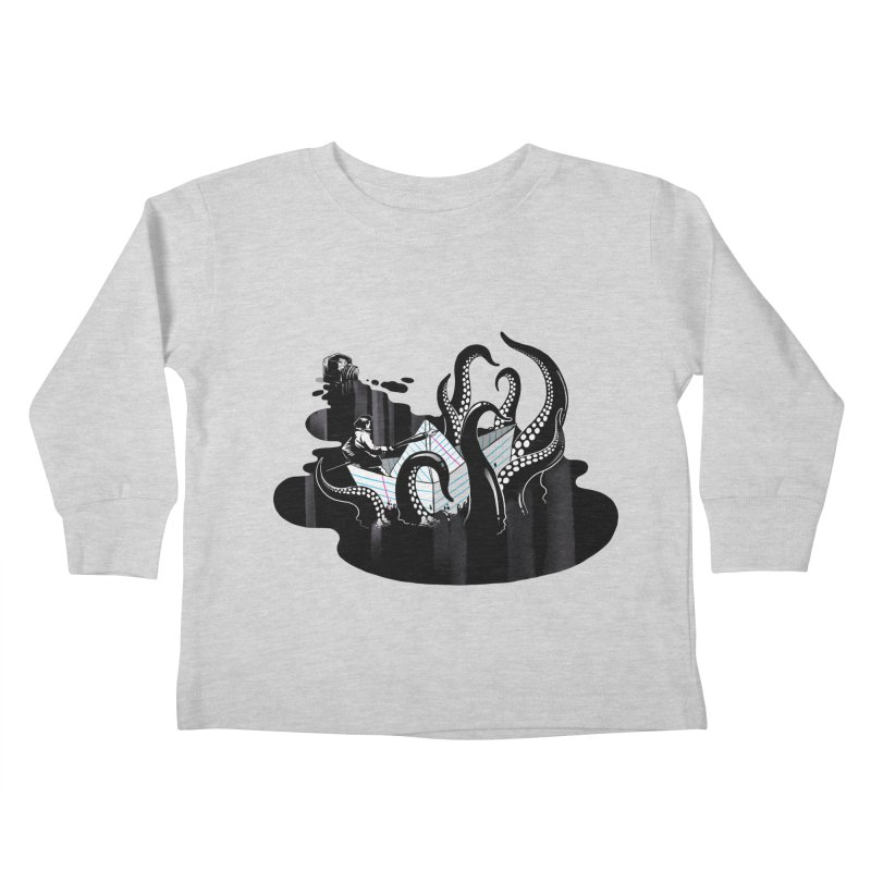 A smooth ink never made a skilled artist Kids Toddler Longsleeve T-Shirt by MadKobra