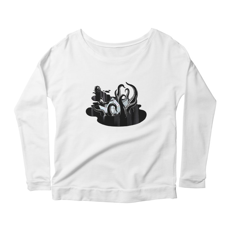 A smooth ink never made a skilled artist Women's Scoop Neck Longsleeve T-Shirt by MadKobra