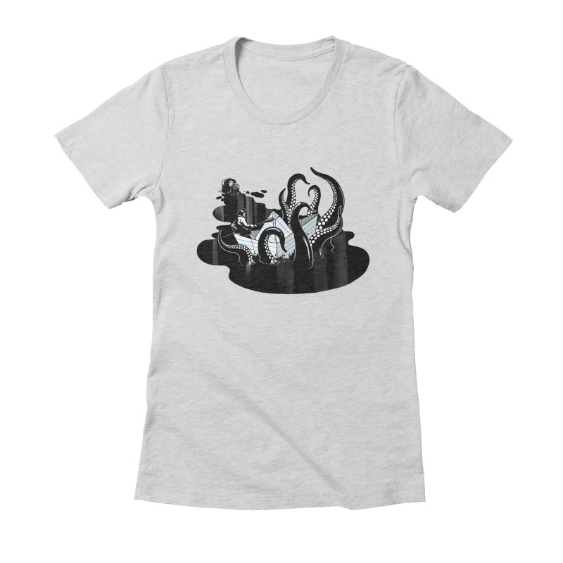 A smooth ink never made a skilled artist Women's Fitted T-Shirt by MadKobra