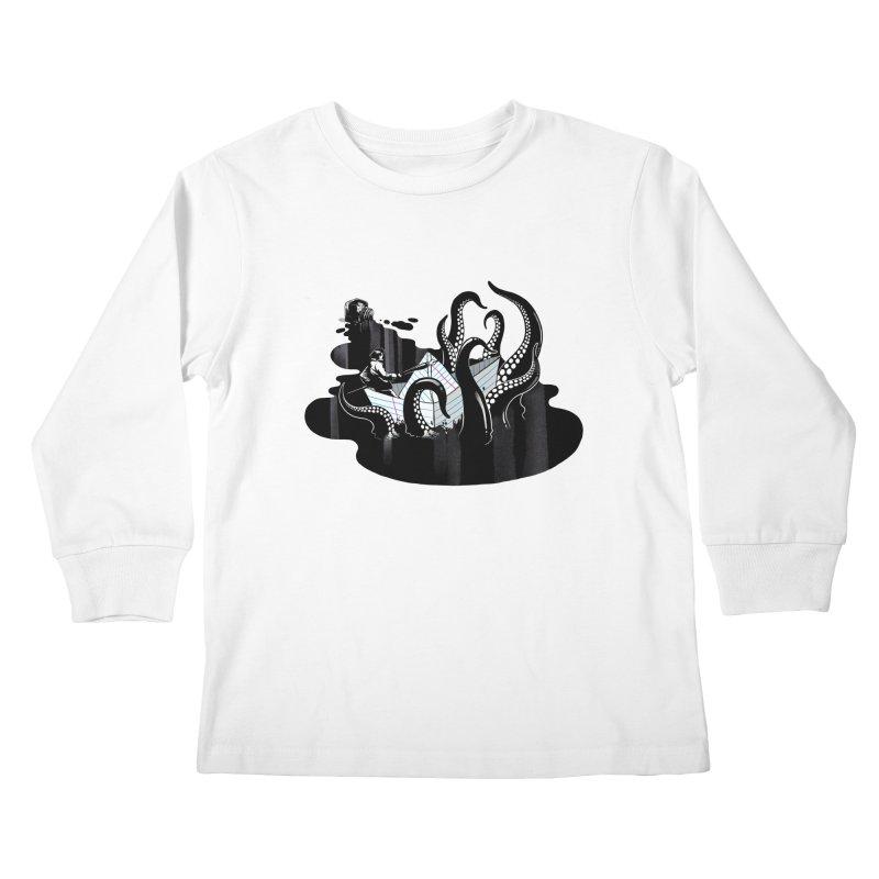 A smooth ink never made a skilled artist Kids Longsleeve T-Shirt by MadKobra
