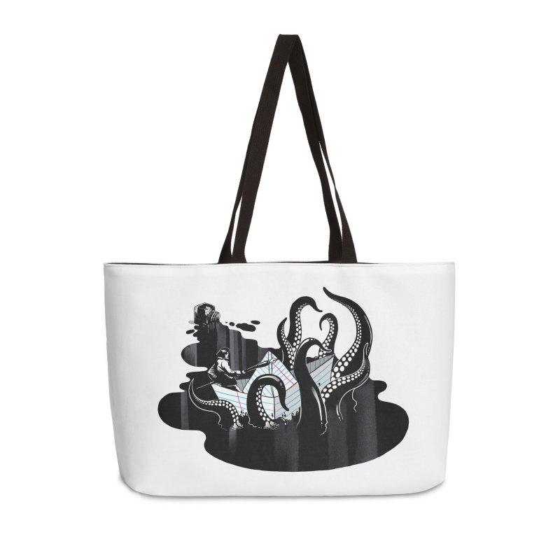 A smooth ink never made a skilled artist Accessories Weekender Bag Bag by MadKobra