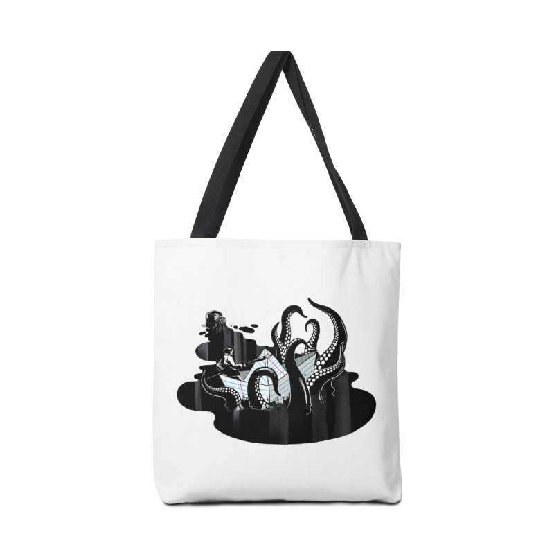A smooth ink never made a skilled artist Accessories Tote Bag Bag by MadKobra