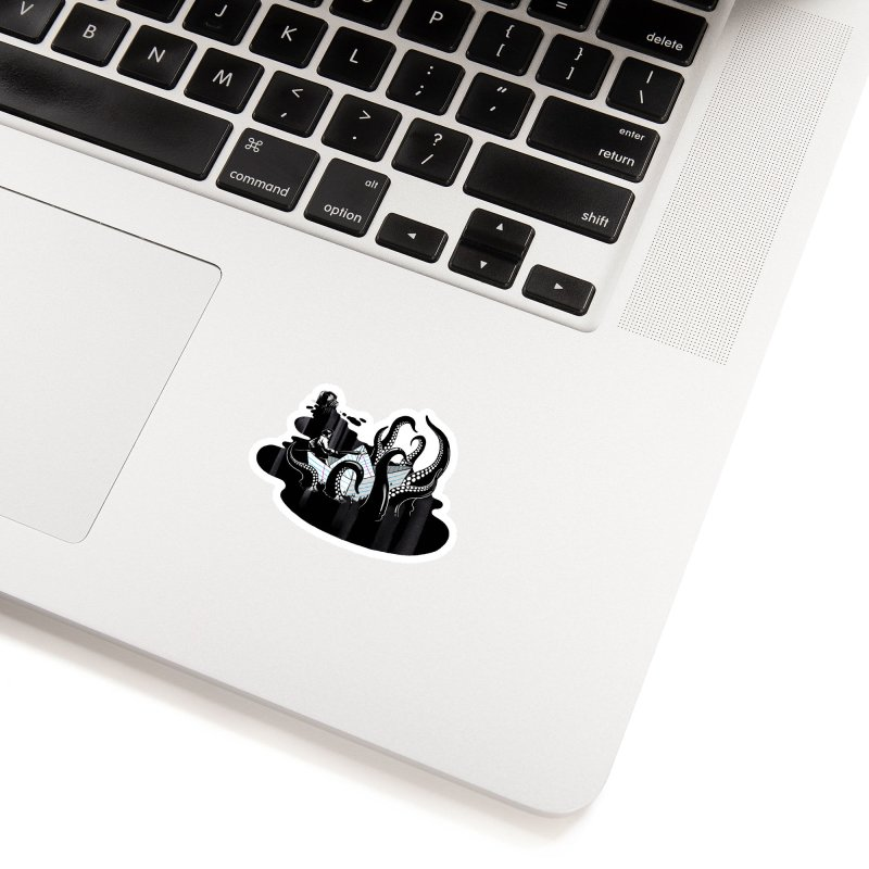 A smooth ink never made a skilled artist Accessories Sticker by MadKobra
