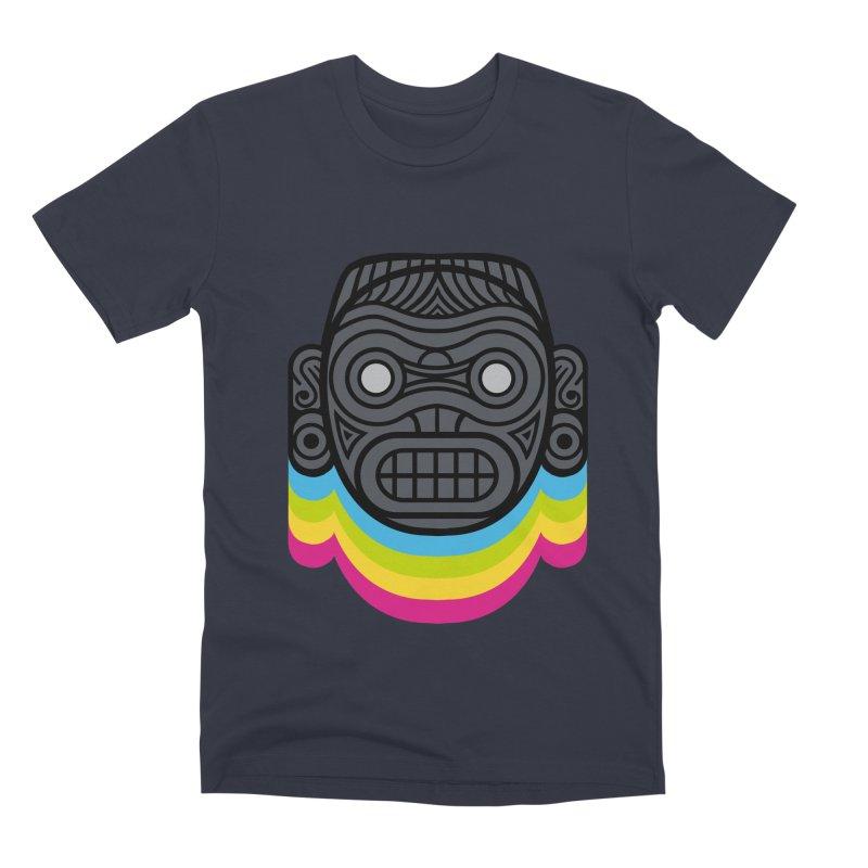 Taino mystic mask Men's Premium T-Shirt by MadKobra