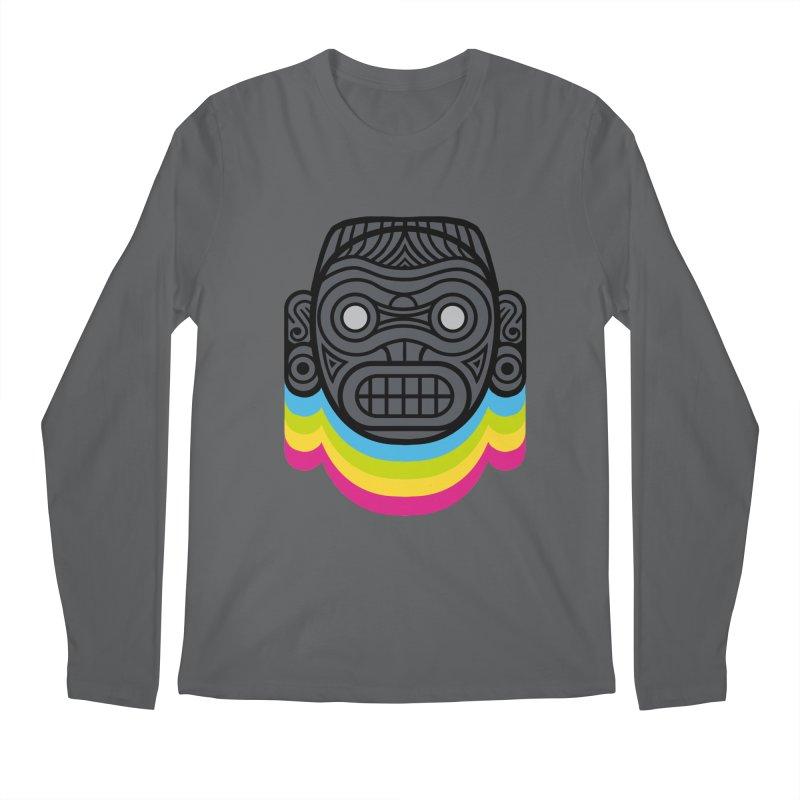 Taino mystic mask Men's Longsleeve T-Shirt by MadKobra