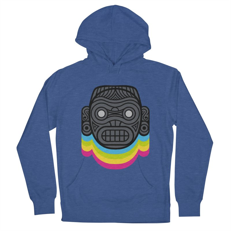 Taino mystic mask Women's French Terry Pullover Hoody by MadKobra