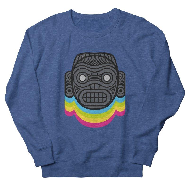 Taino mystic mask Women's French Terry Sweatshirt by MadKobra