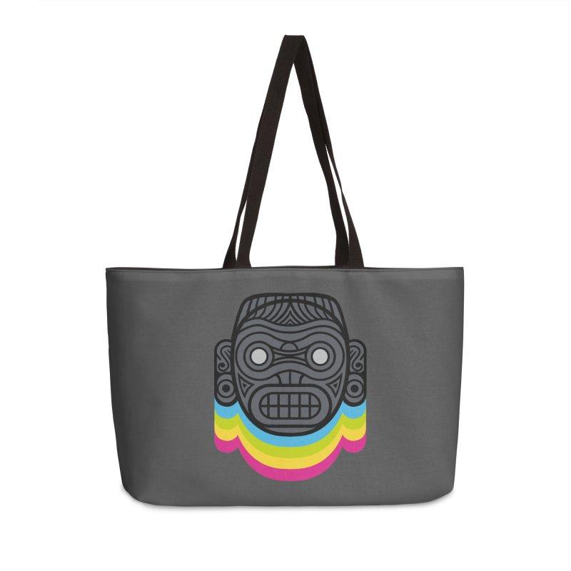 Taino mystic mask Accessories Weekender Bag Bag by MadKobra