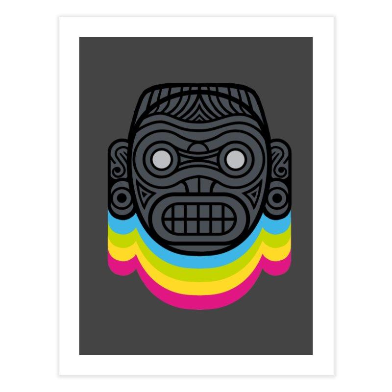 Taino mystic mask Home Fine Art Print by MadKobra