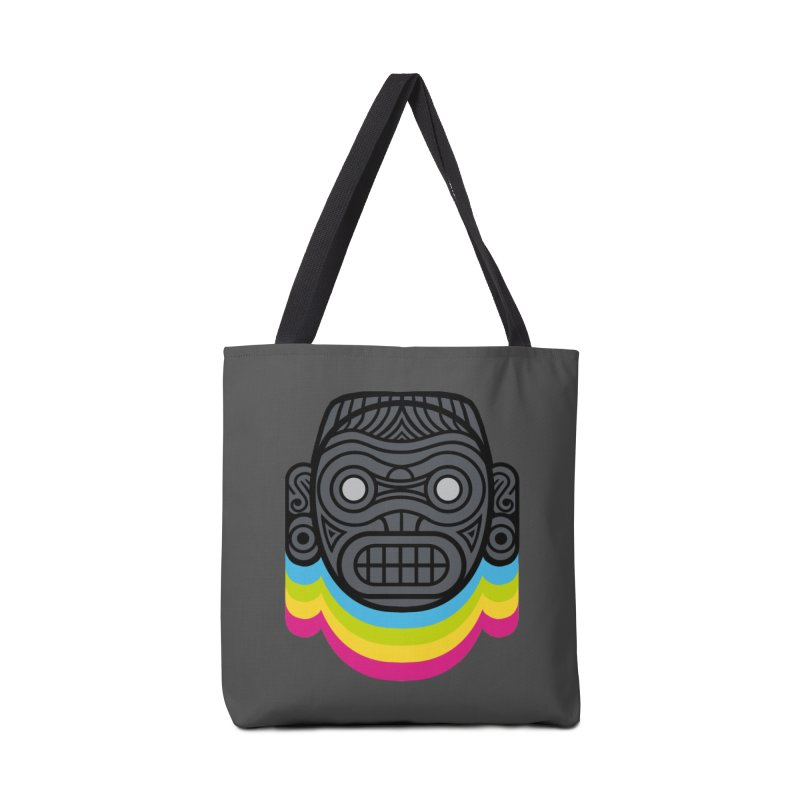 Taino mystic mask Accessories Bag by MadKobra