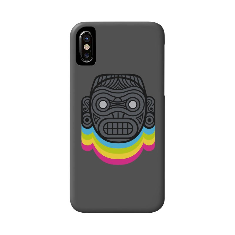 Taino mystic mask Accessories Phone Case by MadKobra