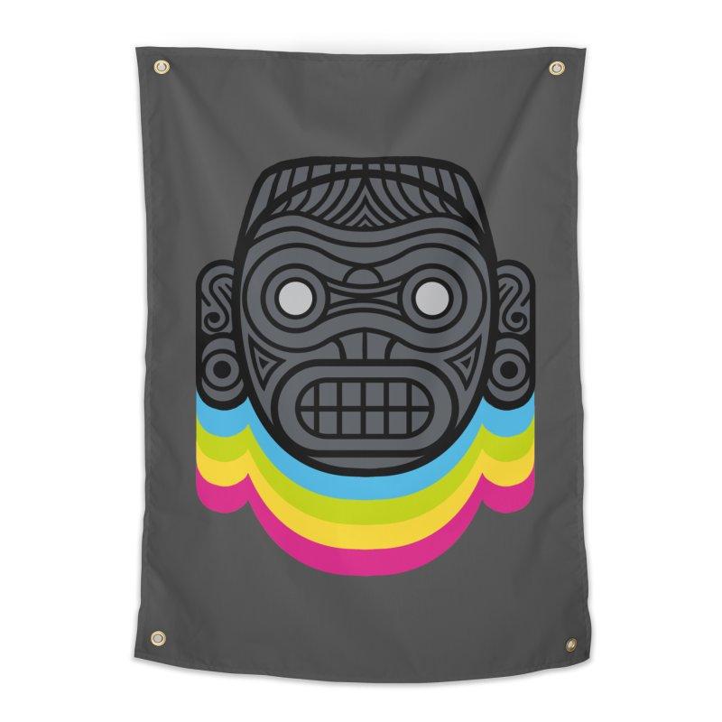 Taino mystic mask Home Tapestry by MadKobra