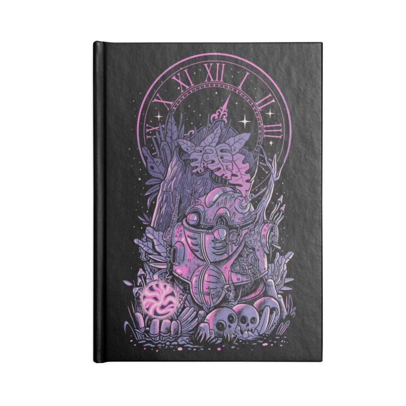Corridors of Time Accessories Lined Journal Notebook by MadKobra