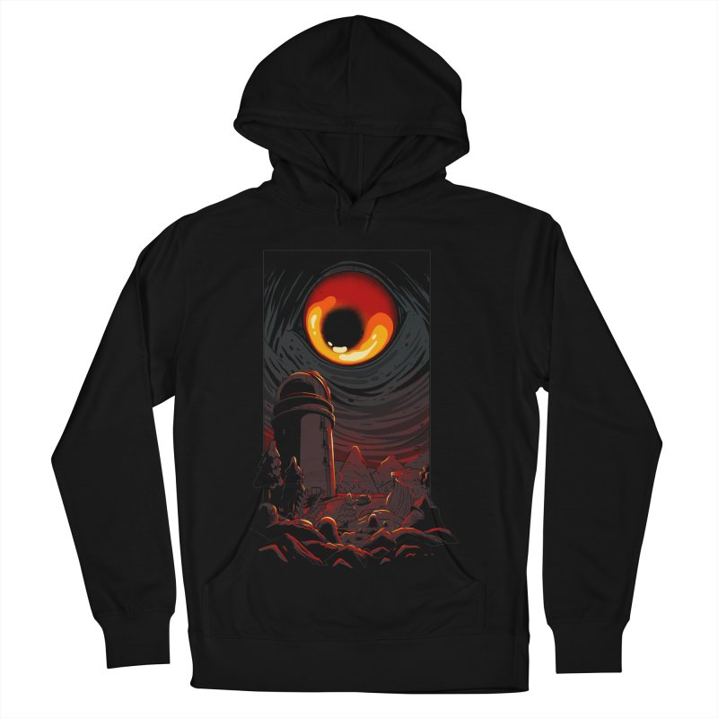 Cosmic Discovery Men's French Terry Pullover Hoody by MadKobra