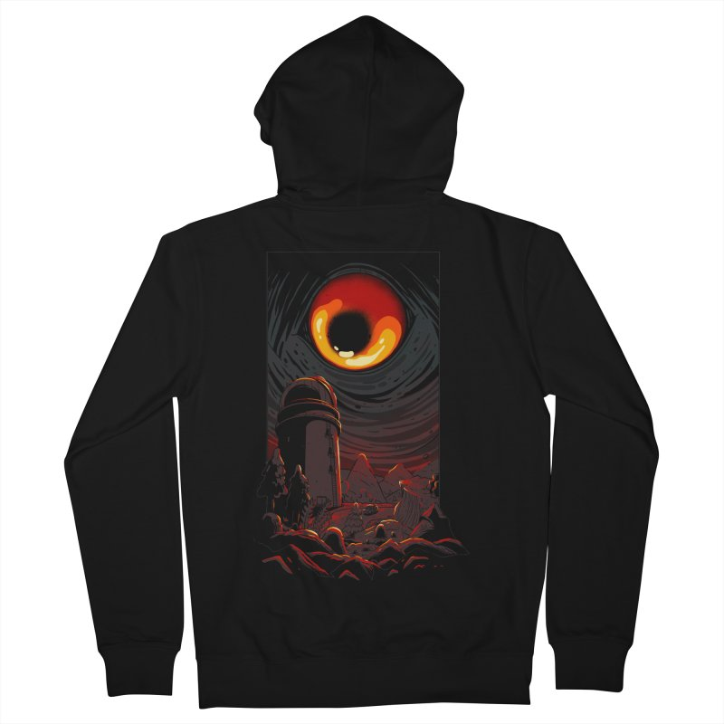 Cosmic Discovery Men's French Terry Zip-Up Hoody by MadKobra