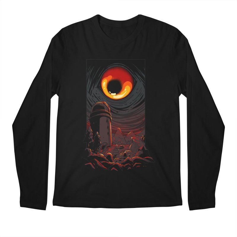 Cosmic Discovery Men's Regular Longsleeve T-Shirt by MadKobra