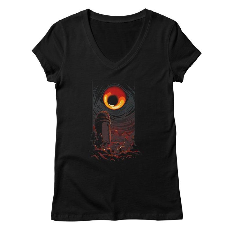 Cosmic Discovery Women's V-Neck by MadKobra