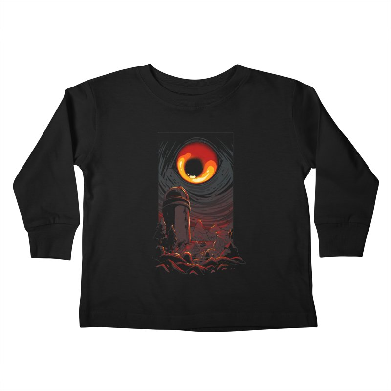Cosmic Discovery Kids Toddler Longsleeve T-Shirt by MadKobra