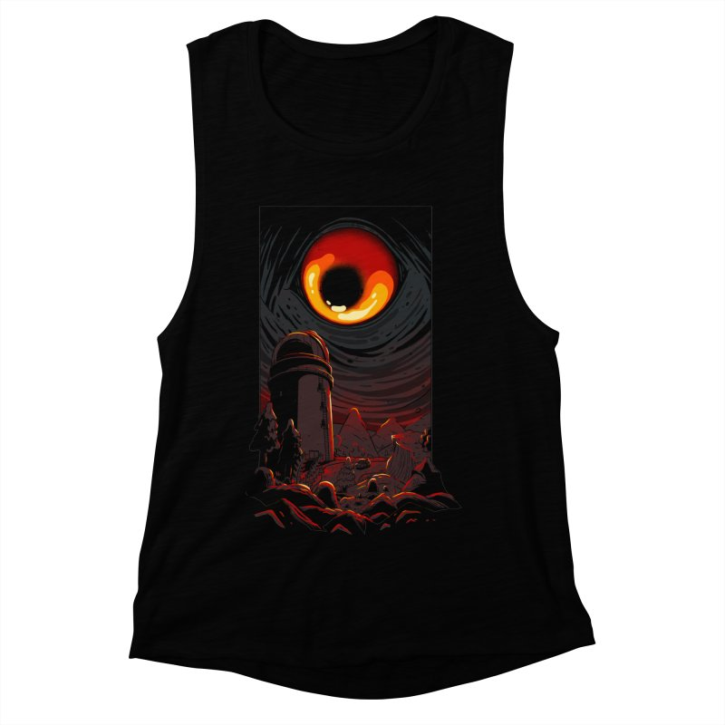Cosmic Discovery Women's Muscle Tank by MadKobra