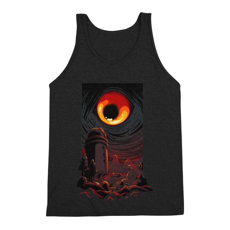 Cosmic Discovery Men's Triblend Tank by MadKobra