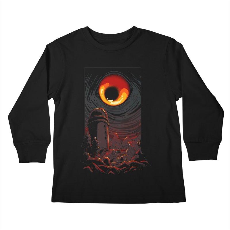 Cosmic Discovery Kids Longsleeve T-Shirt by MadKobra