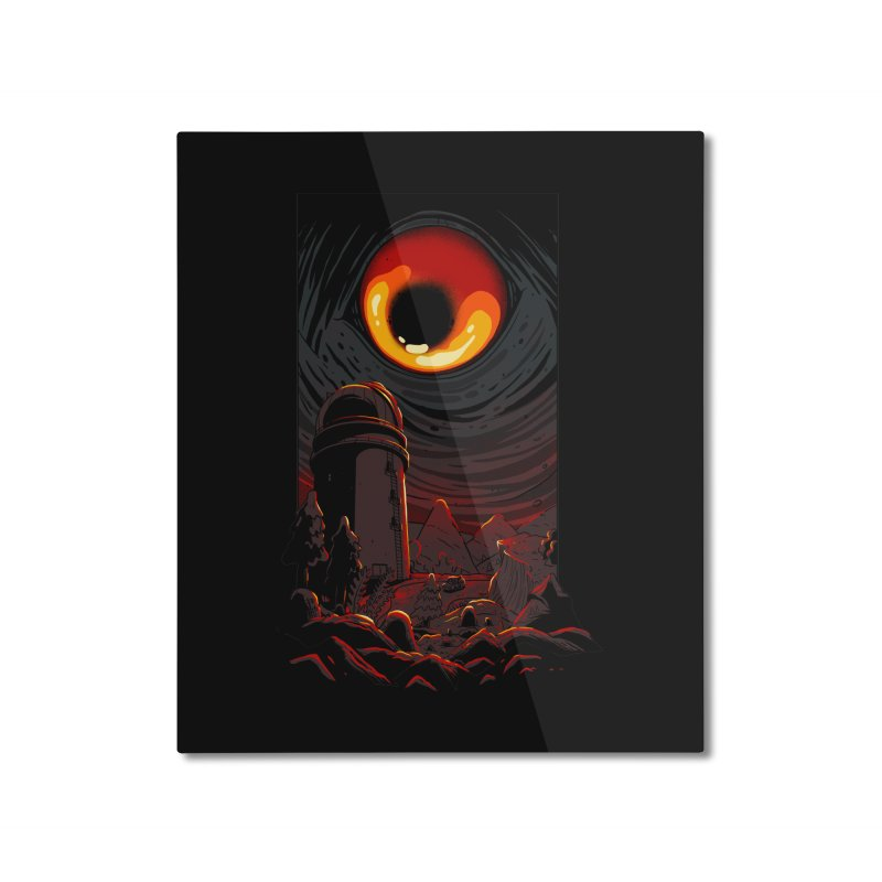 Cosmic Discovery Home Mounted Aluminum Print by MadKobra