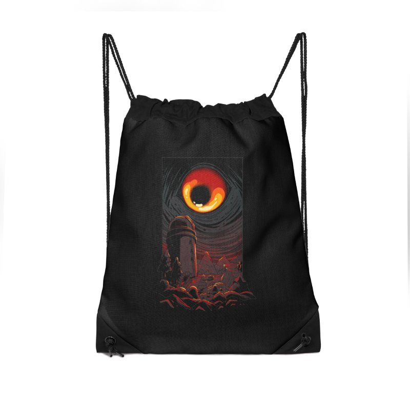 Cosmic Discovery Accessories Drawstring Bag Bag by MadKobra