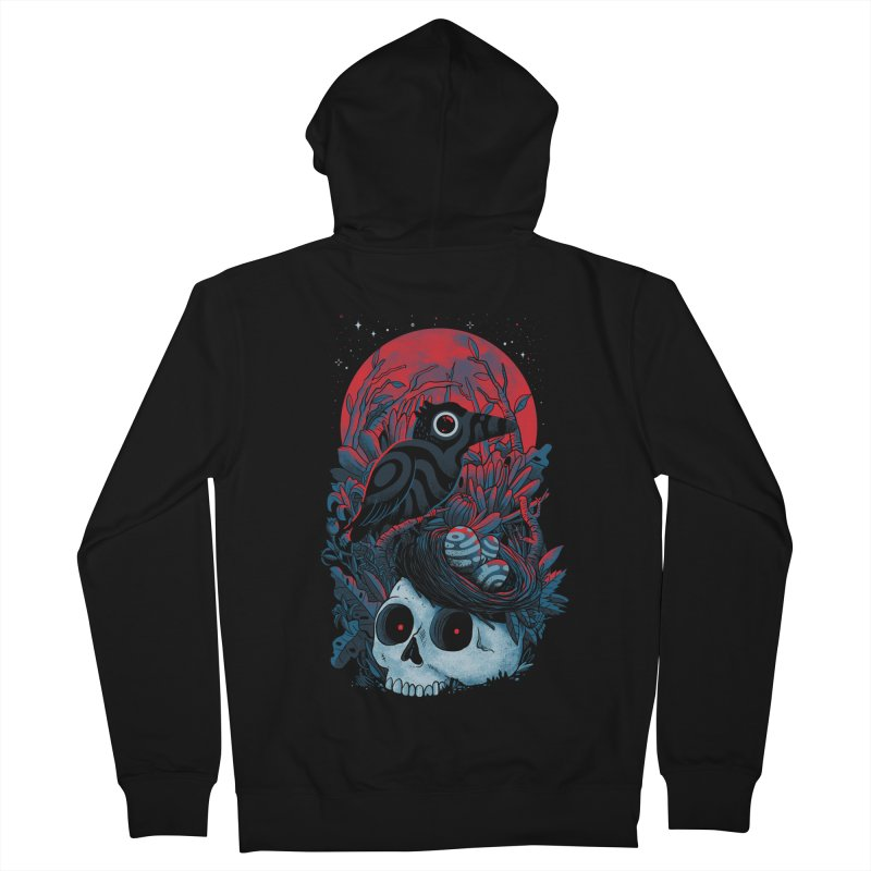 Rebirth Men's French Terry Zip-Up Hoody by MadKobra