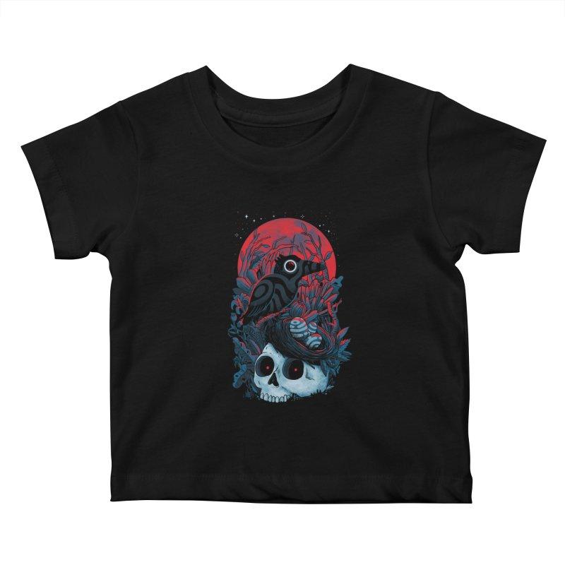 Rebirth Kids Baby T-Shirt by MadKobra