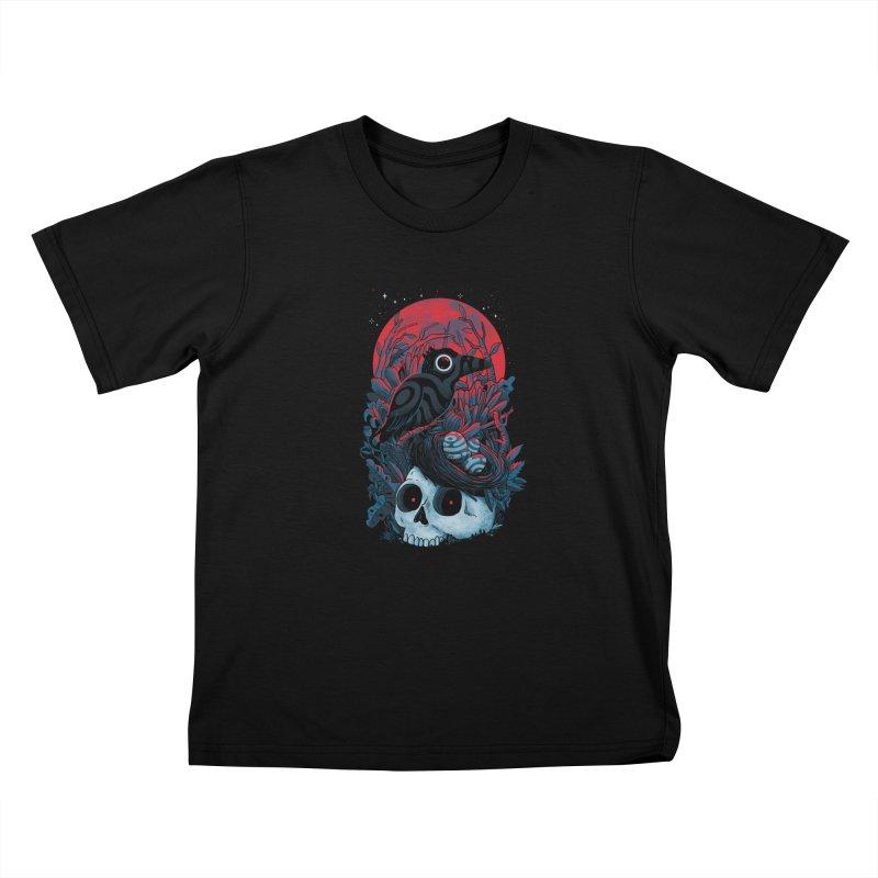 Rebirth Kids T-Shirt by MadKobra